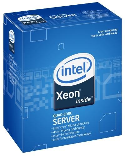 Intel ® Xeon® Processor X3360 (12M Cache, 2.83 GHz, 1333 MHz FSB) 2.83GHz 12MB L2 Scatola processore
