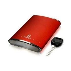 Iomega Cherry Red Portable Hard Drive 160 GB 160GB Rosso disco rigido esterno
