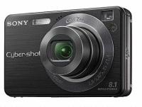 """Sony Cyber-shot DSC-W130 Fotocamera compatta 8.1MP 1/2.5"""" CCD 3264 x 2448Pixel Nero"""