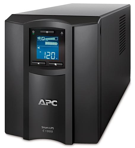 APC Smart-UPS C 1000VA LCD 120V 1000VA 8AC outlet(s) Torre Nero gruppo di continuità (UPS)