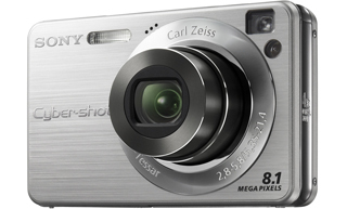"Sony Cyber-shot DSC-W130 Fotocamera compatta 8.1MP 1/2.5"" CCD 3264 x 2448Pixel Argento"