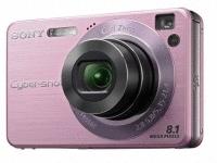 "Sony Cyber-shot DSC-W130 Fotocamera compatta 8.1MP 1/2.5"" CCD 3264 x 2448Pixel Rosa"