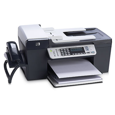HP Officejet J5508 All-in-One Printer Fax, Scanner, Copier, Printer multifunzione