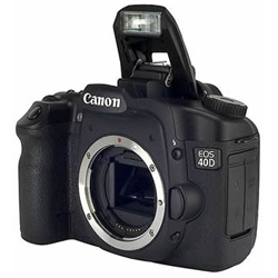Canon EOS 40D+ EF-S 18-55mm + EF-S 55-250mm Kit fotocamere SLR 10.1MP CMOS 3888 x 2592Pixel Nero