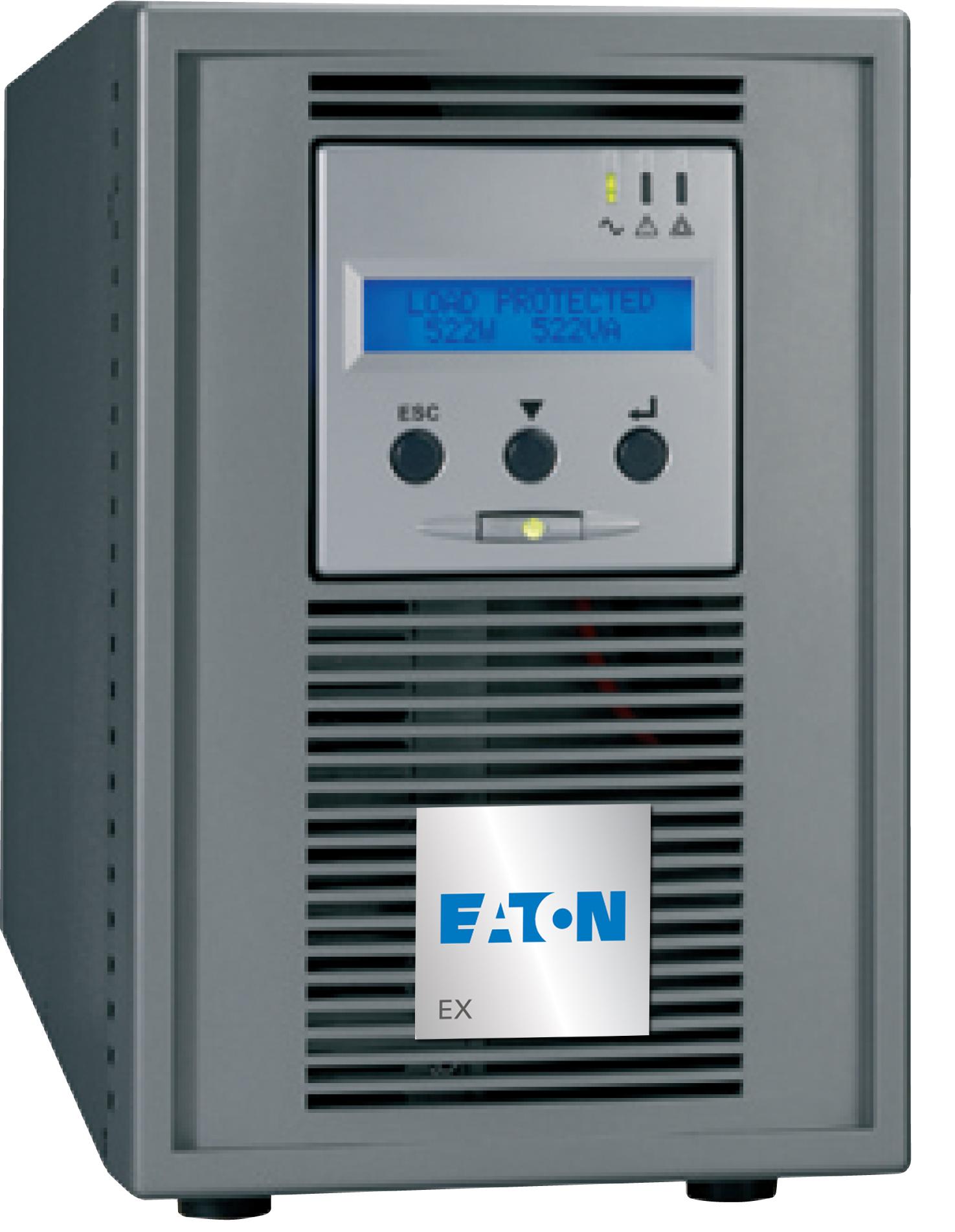 Eaton EX 1000 1000VA 6AC outlet(s) Torre Grigio gruppo di continuità (UPS)