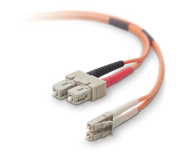 V7 LC/ST 3m Fiber Optic Cable 3m LC ST Arancione cavo a fibre ottiche