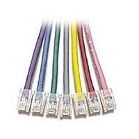 V7 CAT6 Patch Cables RJ45M/M 0.5m Grigio cavo di rete