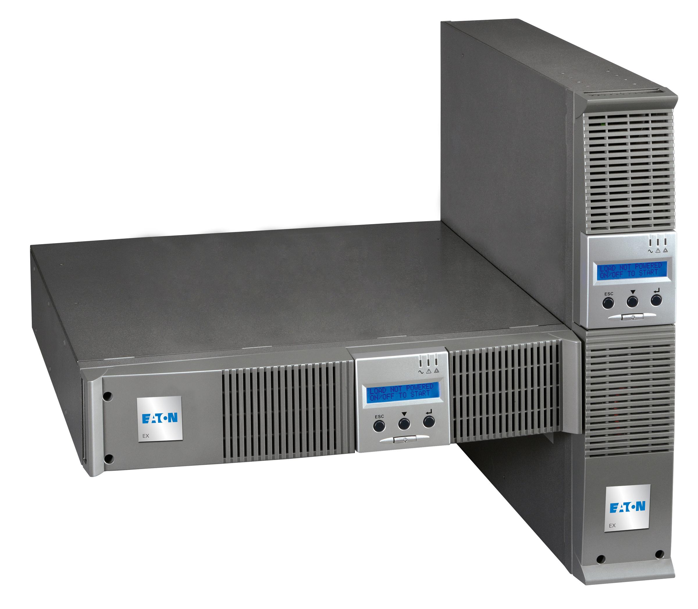 Eaton EX 1000 RT2U 1000VA 6presa(e) AC Montaggio a rack/Torre Grigio gruppo di continuità (UPS)