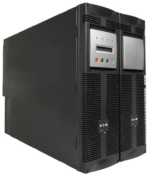 Eaton EX RT 7 3:1 7000VA Montaggio a rack/Torre Nero gruppo di continuità (UPS)