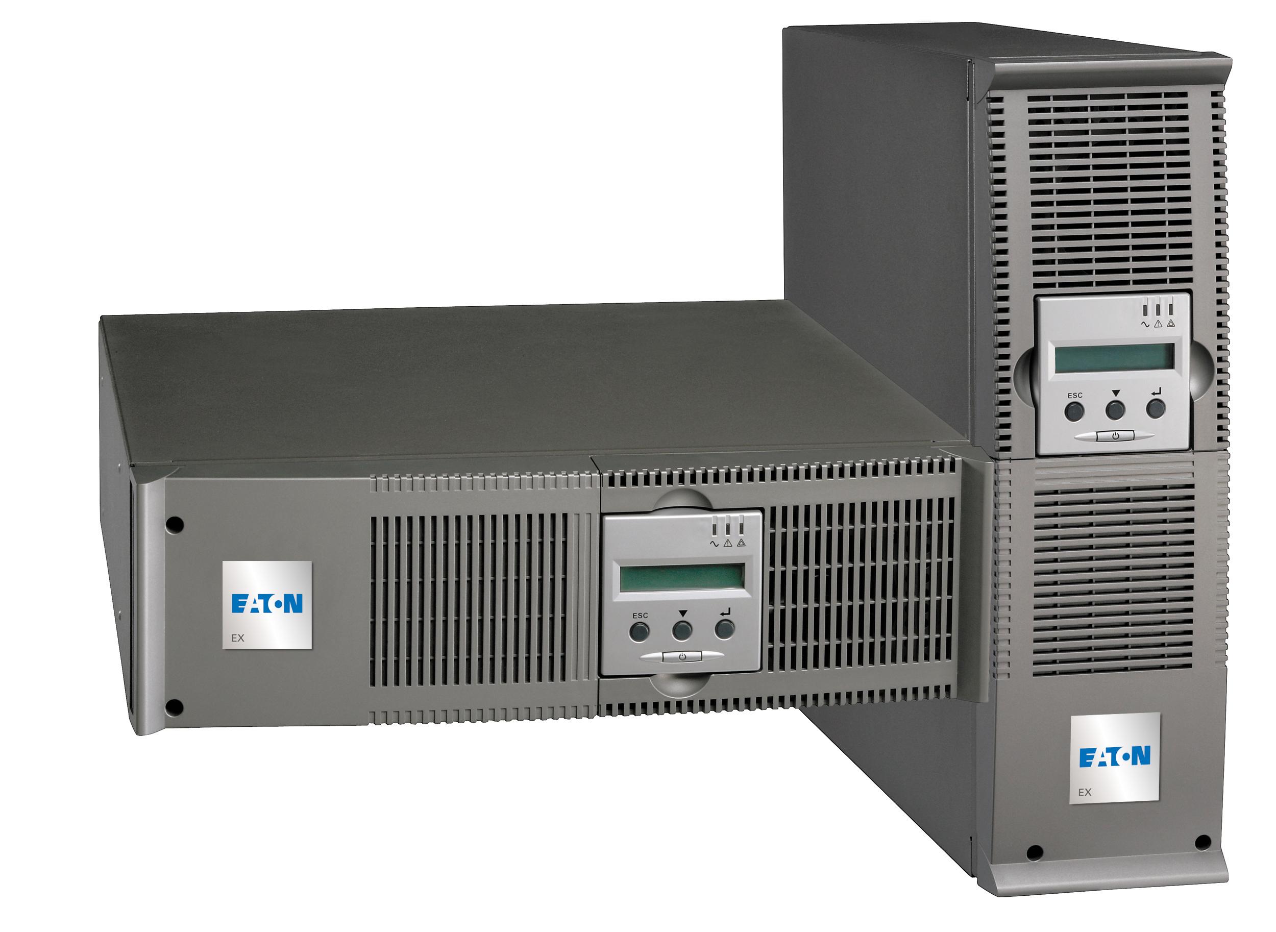 Eaton EX 3000 RT3U 3000VA 9presa(e) AC Montaggio a rack/Torre Grigio gruppo di continuità (UPS)