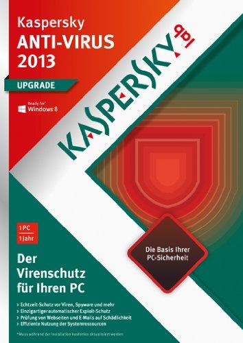 Kaspersky Lab Anti-Virus 2013, Base, Box, 1PC, 1Y Base license 1anno/i