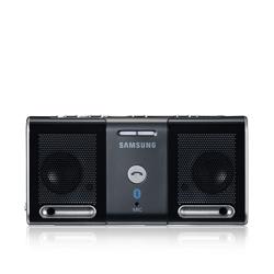 Samsung Portable Bluetooth Speaker 2.0canali Nero docking station con altoparlanti