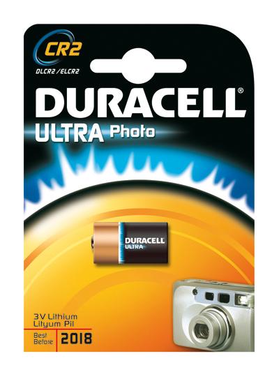 Duracell Ultra Photo CR2 Ioni di Litio 3V batteria non-ricaricabile