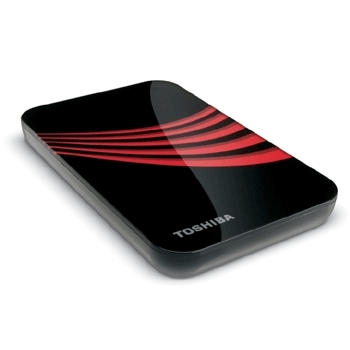 Toshiba 250GB USB 2.0 Portable External Hard Drive 250GB Rosso disco rigido esterno