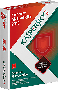 Kaspersky Lab Anti-Virus 2013 Base license 1utente(i) 1anno/i Tedesca