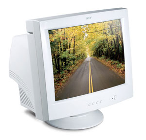 """Acer Monitor AC701 17CRT TCO99 17"""" 1280 x 1024Pixel monitor CRT"""