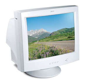 "Acer Monitor AC901 19 CRT TCO99 19"" 1600 x 1200Pixel monitor CRT"