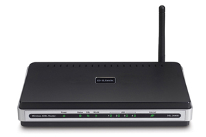 D-Link DSL-2640B router wireless