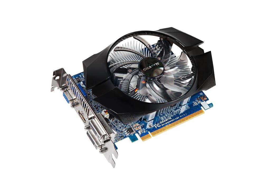 Gigabyte GeForce GTX 650 2GB OC, GeForce GTX 650, NVIDIA, 1110 MHz, 2048 MB, GDDR5-SDRAM, 128 bit