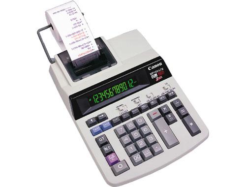 Canon Office Printing Calculator MP120-LTS Tasca Calcolatrice con stampa Grigio