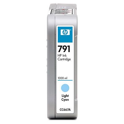HP 791 Light Cyan Ciano chiaro cartuccia d