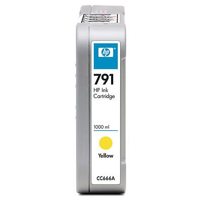 HP 791 Yellow Giallo cartuccia d