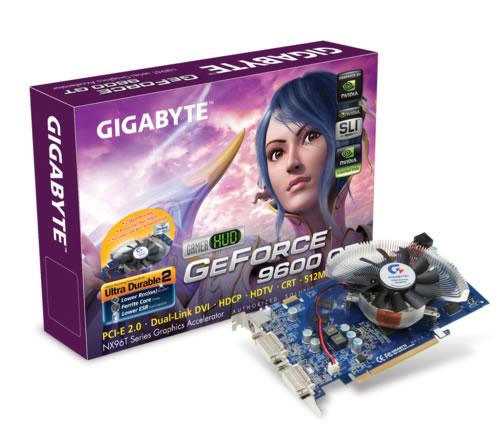 Gigabyte GeForce 9600 GT 512MB GeForce 9600 GT GDDR3