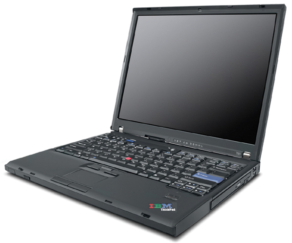 "Lenovo ThinkPad T61 2.1GHz T8100 14.1"" 1280 x 800Pixel Computer portatile"