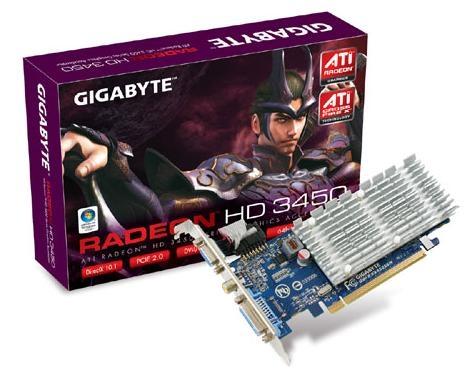 Gigabyte GV-RX345256H GDDR2 scheda video