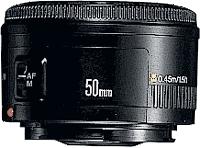 Canon EF 50mm f/1.8 II Nero