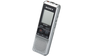 Sony Dictation Digital w FM Tuner and PC Link dittafono