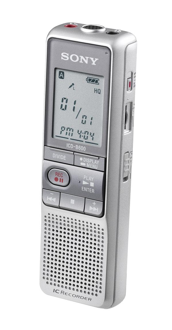 Sony ICD-B600 Digital Voice Recorder dittafono