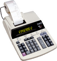 Canon Office Printing calculator MP1211-LTS Calcolatrice con stampa Grigio