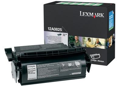 Lexmark 12A0825 23000pagine Nero cartuccia toner e laser