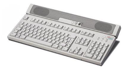"Fujitsu KBPC M1 """"UK"""" PS/2 QWERTY Inglese Avorio tastiera"