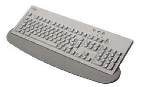 "Fujitsu KEYBOARD KBPC ID """"F"""" USB AZERTY Francese Grigio tastiera"