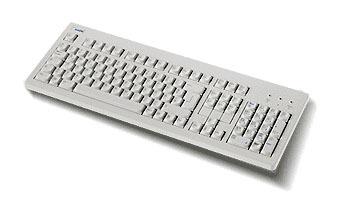 "Fujitsu KEYBOARD KBPC S2 """"DAN"""" PS/2 QWERTY Danese tastiera"