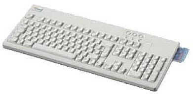 "Fujitsu KEYBOARD KBPC C2 """"F"""" USB AZERTY Francese tastiera"