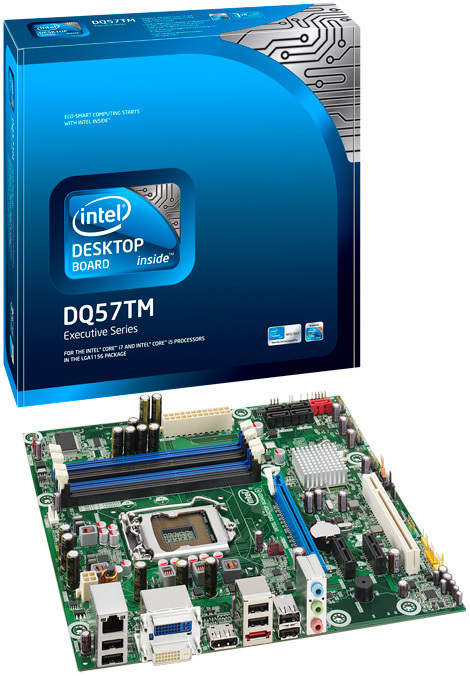 Intel DQ57TM LGA 1156 (Socket H) Micro ATX scheda madre