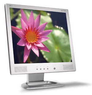 "Acer AL1731M 17IN TFT LCD 17"" Argento monitor piatto per PC"