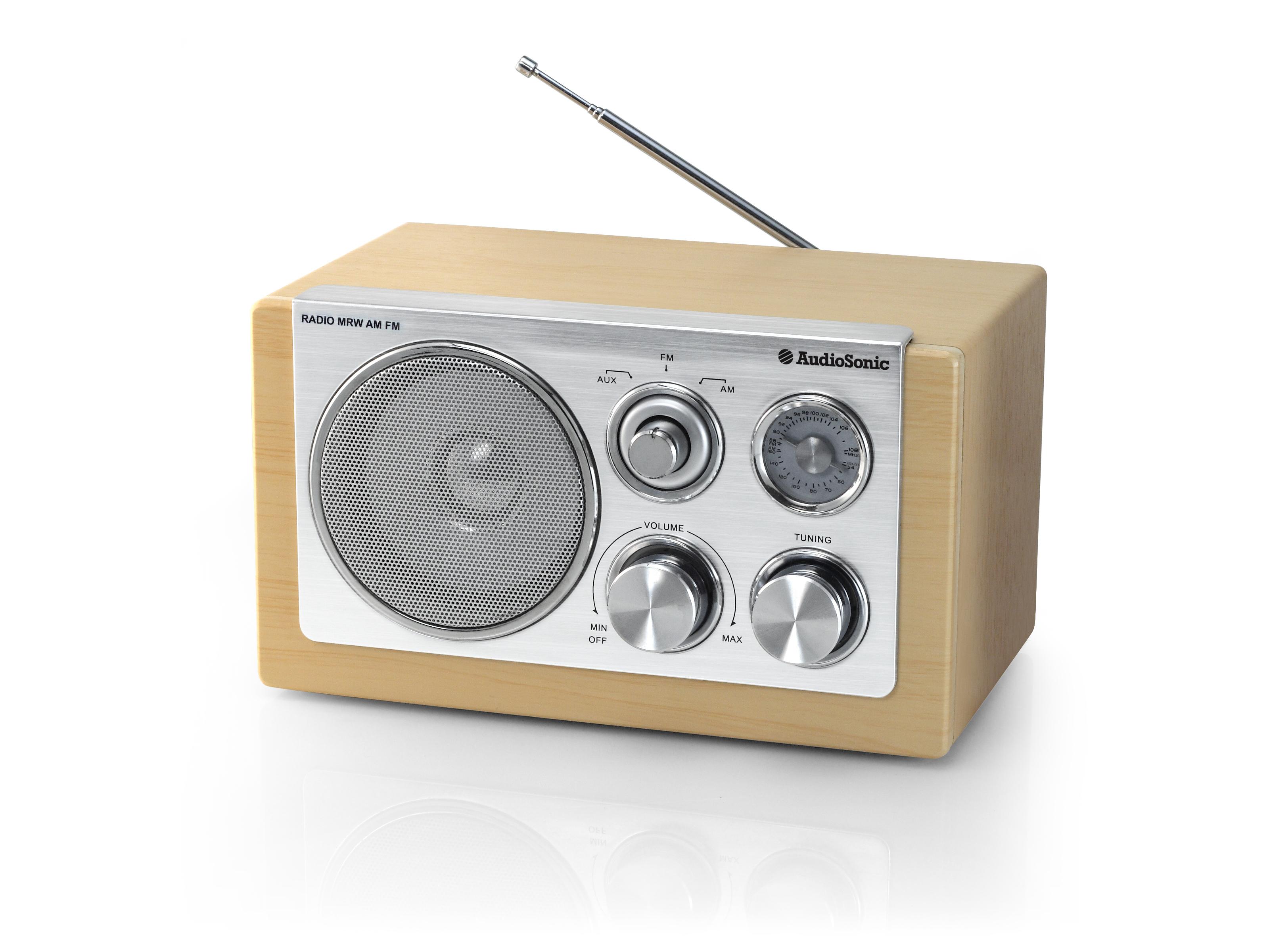 AudioSonic RD-1540 Personale Analogico Argento radio
