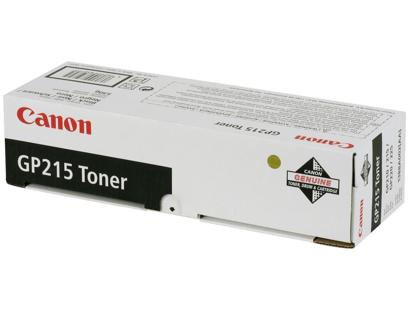 Canon GP215 Toner laser 9600pagine Nero