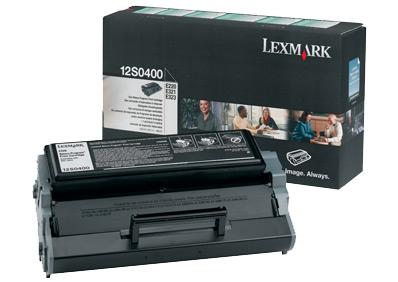 Lexmark 12S0400 Laser cartridge 2500pagine Nero cartuccia toner e laser