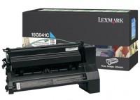 Lexmark 15G041C Laser cartridge 6000pagine Ciano cartuccia toner e laser