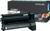 Lexmark C7720KX Laser cartridge 15000pagine Nero cartuccia toner e laser