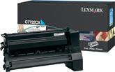 Lexmark C7722CX Laser cartridge 15000pagine Ciano cartuccia toner e laser