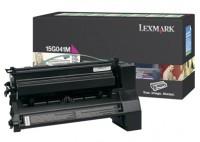 Lexmark 15G041M Laser cartridge 6000pagine Magenta cartuccia toner e laser