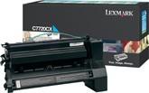 Lexmark C7720CX Toner laser 15000pagine Ciano cartuccia toner e laser