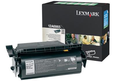Lexmark 12A6865 Laser cartridge 30000pagine Nero cartuccia toner e laser