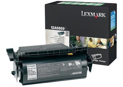 Lexmark 12A6869 Laser cartridge 30000pagine Nero cartuccia toner e laser